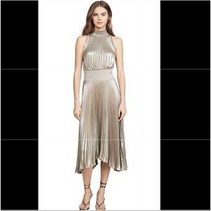 NWT Do+Be Halter Pleated Dress